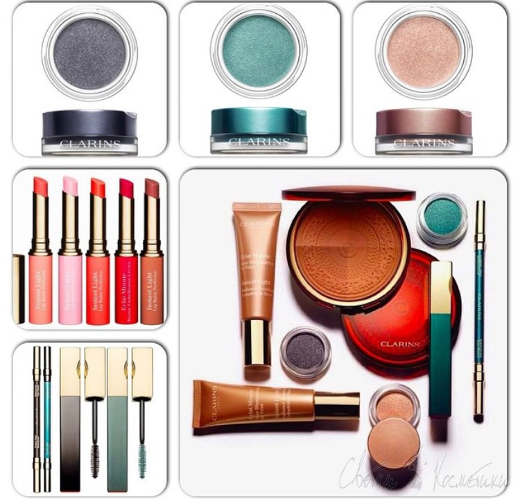 Clarins Aquatic Treasures Summer 2015 Collection