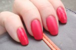 Sally Hansen Big Matte Top Coat  свотчи