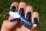 Свотч Lumene Gel effect  оттенок 16 Lake Blue